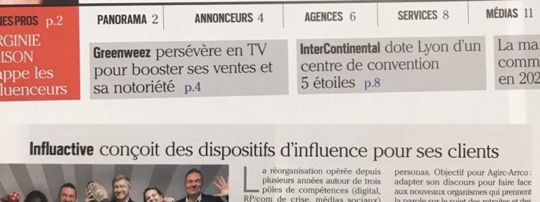 Très bel article de INTERMEDIA
