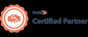 Logo de certification CRM Hubspot
