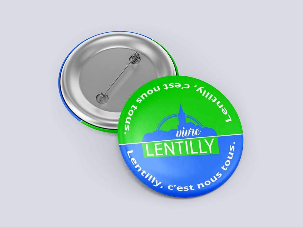 Badge-Lentilly